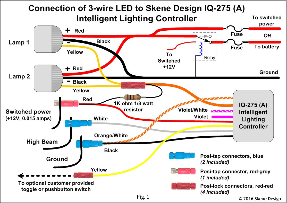 3 wire led dolgular com 6 Wire Trailer Wiring Diagram  Camper Light Wiring Diagram A Light Switch Wiring Semi- Trailer Light Wiring