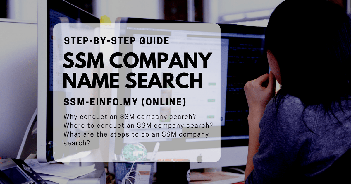 Registrar Of Companies Malaysia Company Search