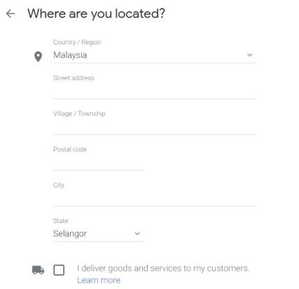 Location-Google-Business