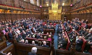 House Lords chamber