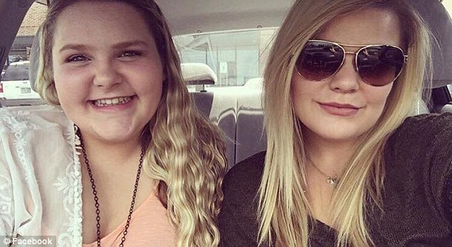 Madison (left) was pronounced dead at the scene, while Taylor (right) was airlifted in critical condition to the Texas Medical Center where she later died