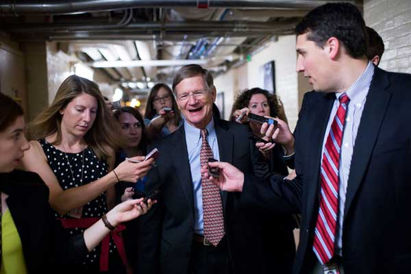 There has always been tension between scientists and Congress. But Lamar Smith, the chairman of the House Committee on Science, Space, and Technology, has escalated that tension into outright war.