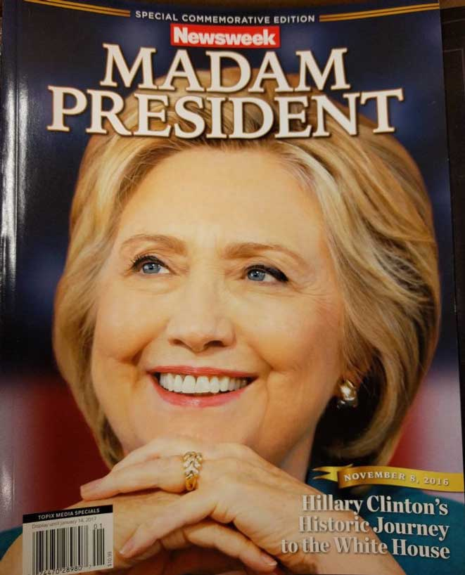 "Failed Claims: ""The fix is in: Newsweek Hillary issue in print before election happened"""