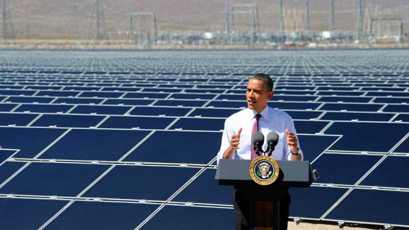 Obama writes article in science journal making economic case for renewables – #climate