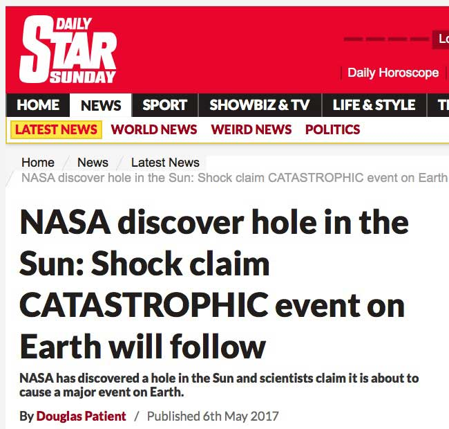 Daily Star: We are all doomed