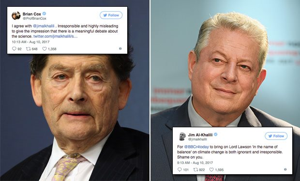 Lord Lawson vs Al Gore – BBC Interview #climate