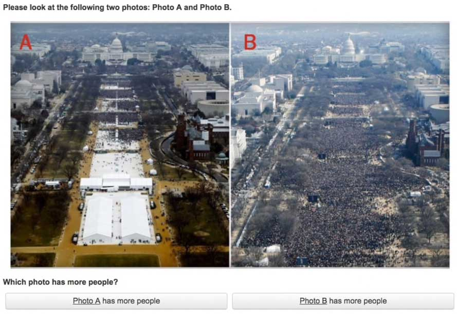 Abandoning Reality: why was there inauguration crowd size denial?