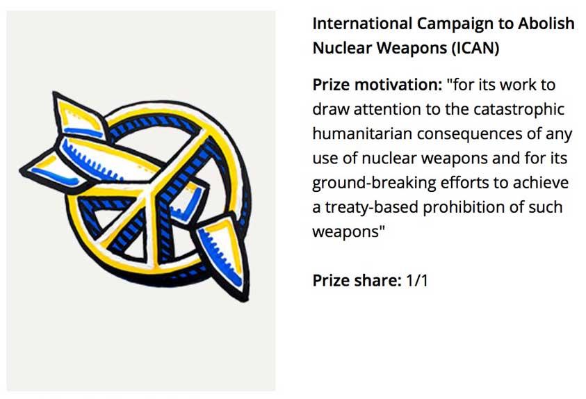 2017 Nobel Prize – Peace