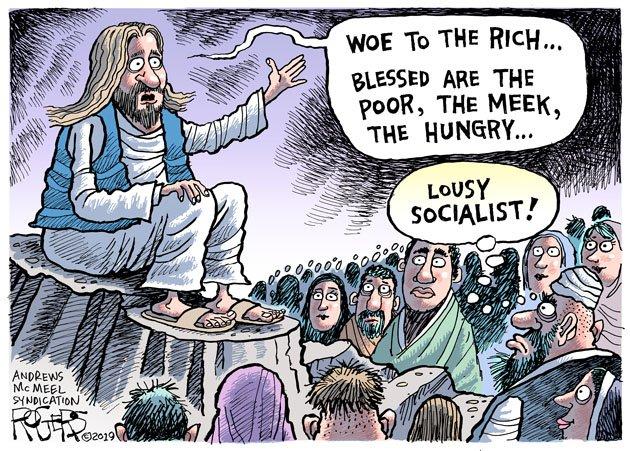 weird religious news - cartoon by Rob Rogers