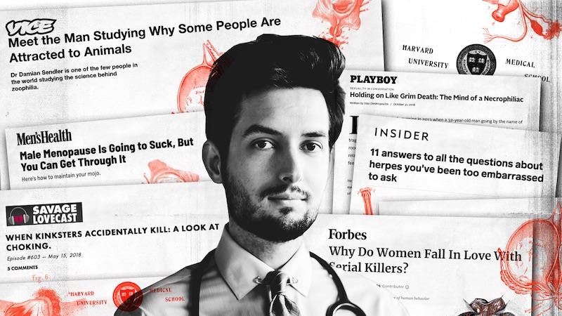 The Fake Sex Doctor who Conned the Media