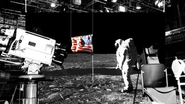 was the moon landing faked