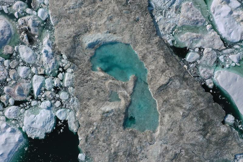 Greenland Melt event in July 2019