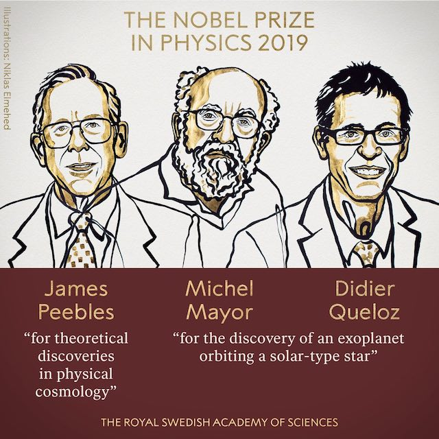 Nobel Prize physics 2019