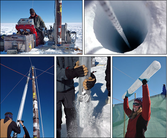 Climate History – New Ice Core data available