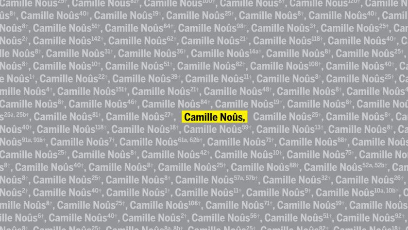 Camille Noûs