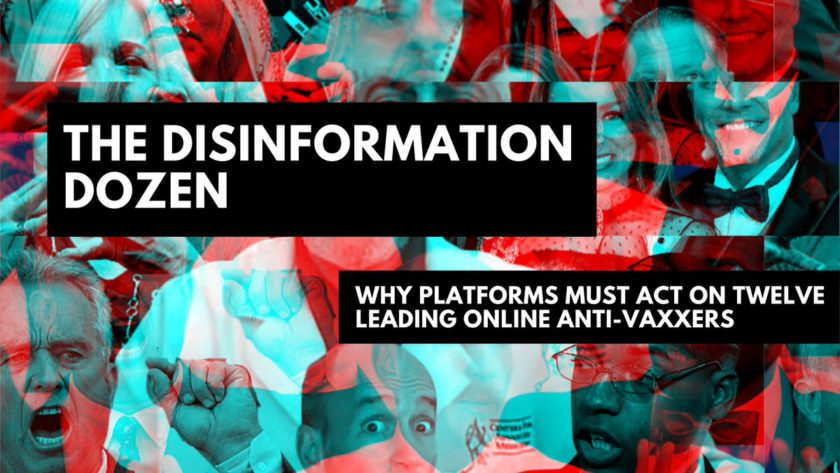 The Disinformation Dozen