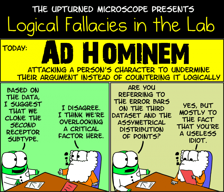 what is an ad hominem argument