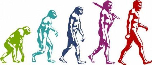 evolution-man-colorful