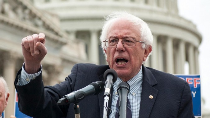 Bernie Sanders embraces alternative medicine and pseudoscience.