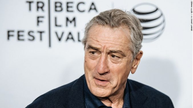 Robert De Niro talks vaccines