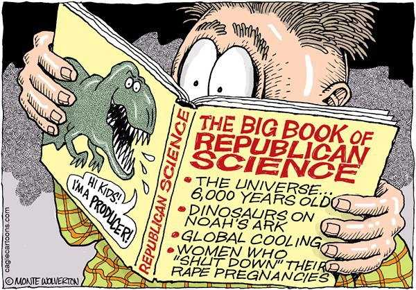 Image result for science denial cartoon images