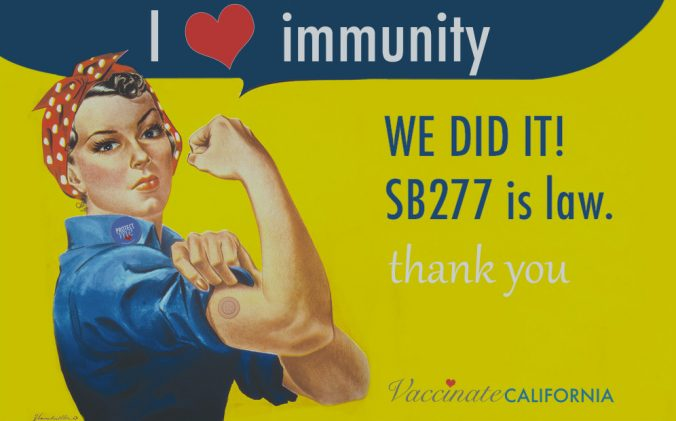 California SB277 lawsuit