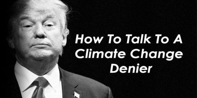 climate change denier