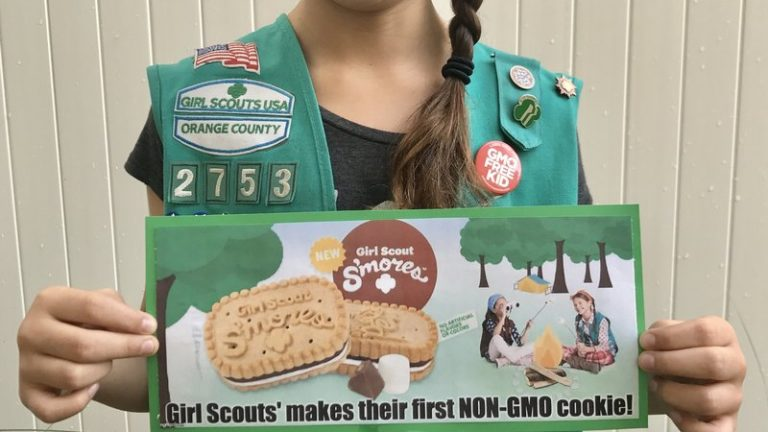 Girl Scout cookies and GMO