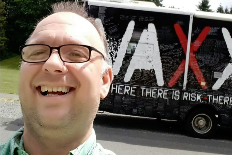 Vaxxed bus tour