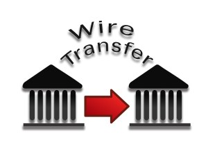 payment transaction wire