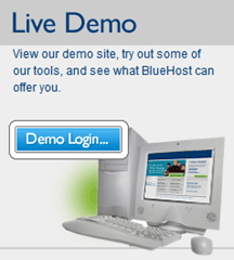Bluehost LiveDemo
