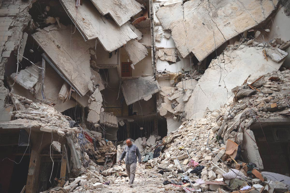 Rising food price has lead to conflict in Syria