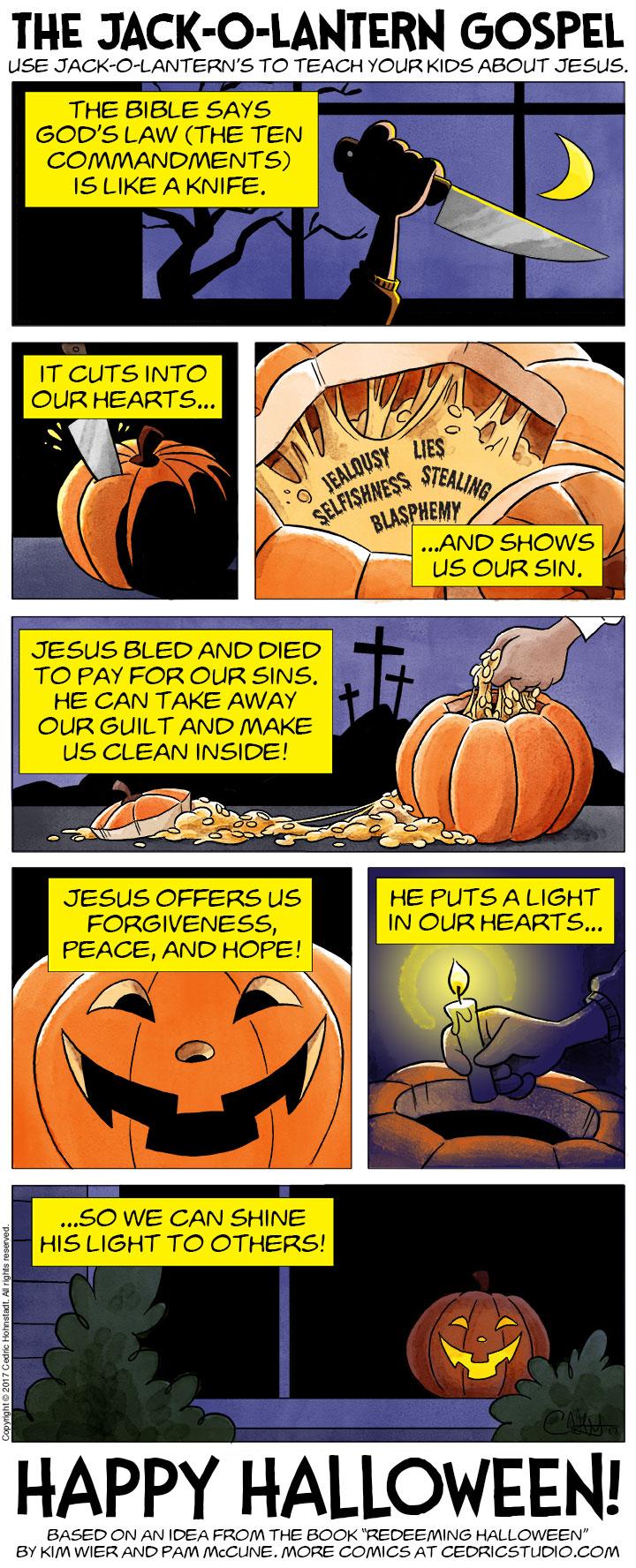 The Jack-O-Lantern Gospel