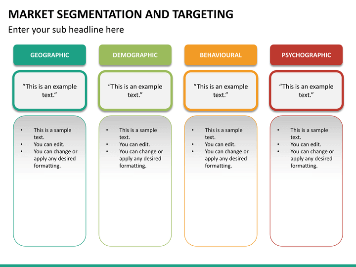 Market Segmentation And Targeting PowerPoint SketchBubble