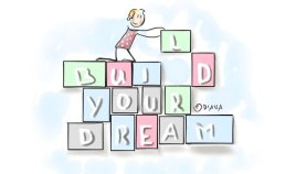 #todaysdoodle Oct15 - Build your Dream