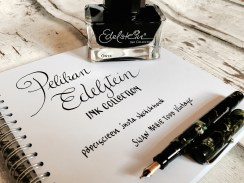 Edelstein ink collection paper screen Swan Mabie Todd Vintage