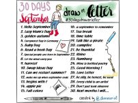#30daysdraworletterseptember