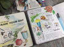 Draw your day Skizzenbuch