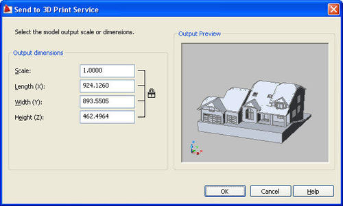 Computer Aided Design (CAD) programme for the 3D Printing