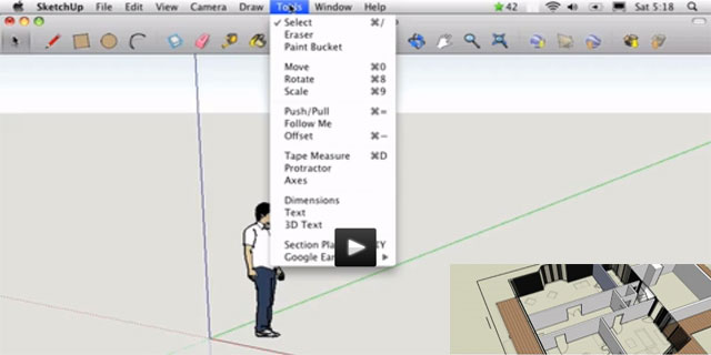 SketchUp Tutorial Video - A Practical Course