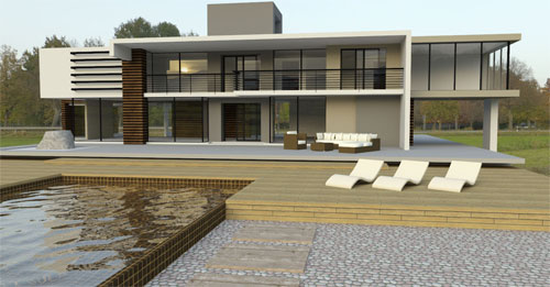 SketchUp photorealistic rendering, its uses and features