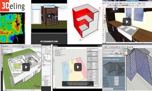 SketchUp Plugins for Ultimate 3D modeling