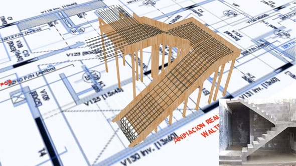 Staircase Formwork Calculation Concrete Stair Formwork Design | Concrete Stair Formwork Design | Round | Master | Broken | Slab | Small Space