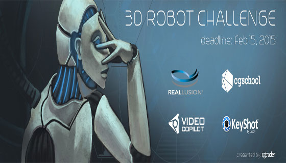 Win prizes worth more than $7000 by participating 3D Robot Challenge