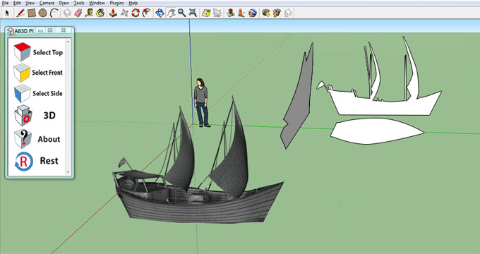 Download AB3D Plugin for SketchUp
