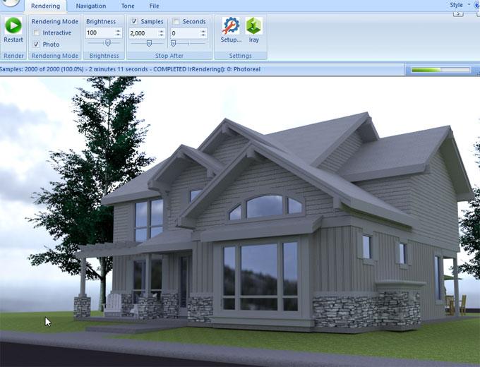 Allura GPU - Photorealistic Rendering for SketchUp using NVIDIA Iray