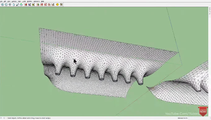 Quick tricks for artisan and SketchyFFD sketchup plugins