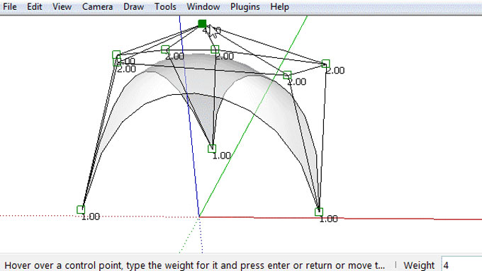 Bezier Triangle Tool – The newest sketchup extension