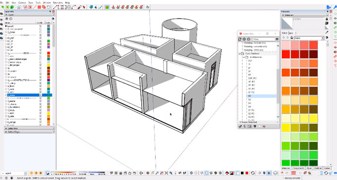 Curic SectionPlane Tool for SketchUp