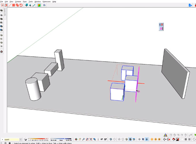 Curic Align – The newest sketchup plugin in extension warehouse